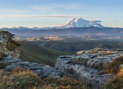 Встреча рассвета на плато Бермамыт