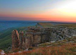 Рассвет на плато Бермамыт + Медовые водопады