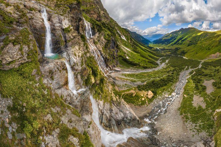 Софийские водопады: удивительная природа горного Архыза